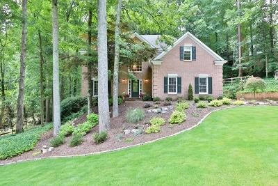 Acworth Single Family Home For Sale: 5372 Thornapple Lane NW