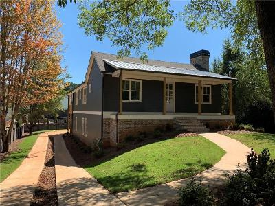Roswell Single Family Home For Sale: 1265 Coleman Road