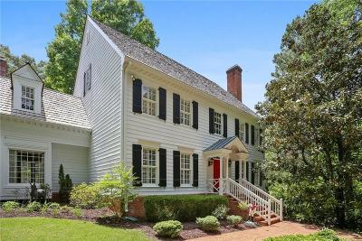 Alpharetta Single Family Home For Sale: 14935 E Bluff Road