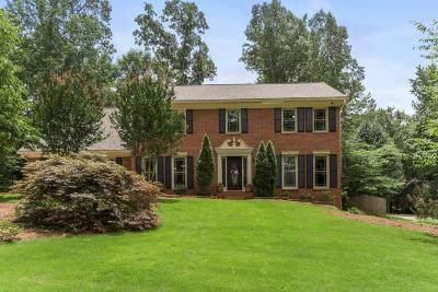 Peachtree Corners Single Family Home For Sale: 4163 Glen Meadow Drive