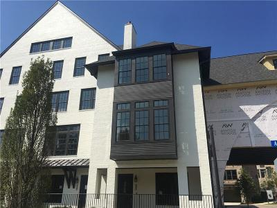 Sandy Springs Condo/Townhouse For Sale: 6607 Aria Boulevard #124