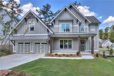 Marietta Single Family Home For Sale: 2156 Ellis Mountain Drive SW