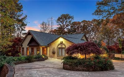 Sandy Springs Single Family Home For Sale: 140 Habersham Waters Court