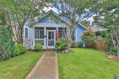 Inman Park Single Family Home For Sale: 720 Lake Avenue NE