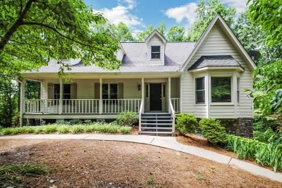 Roswell Single Family Home For Sale: 1230 Cox Road