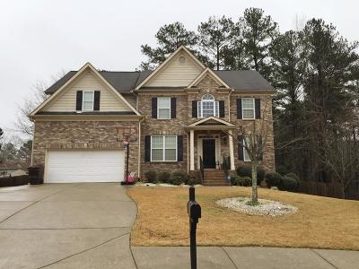 Powder Springs Single Family Home For Sale: 3301 Dilmus Drive