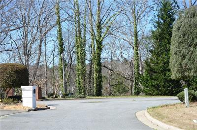 Sandy Springs Residential Lots & Land For Sale: Gold Creek Court
