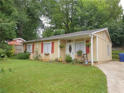 Single Family Home For Sale: 706 Mercer Street SE