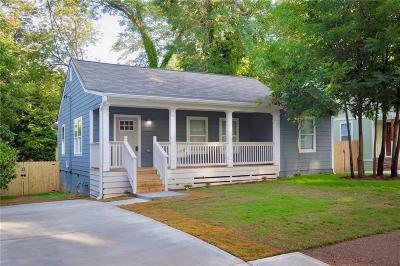 Fulton County Single Family Home For Sale: 1119 Selwin Avenue SW