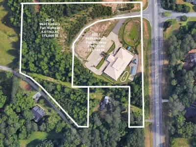 Woodstock Residential Lots & Land For Sale: 9624 Hickory Flat Highway