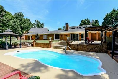 Buford Single Family Home For Sale: 2429 Rock Springs Road
