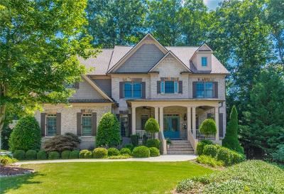 Alpharetta Single Family Home For Sale: 2225 Saxony Trace