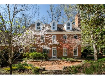 Druid Hills Single Family Home For Sale: 1354 The By Way NE