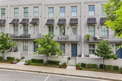 Alpharetta Condo/Townhouse For Sale: 873 3rd Street