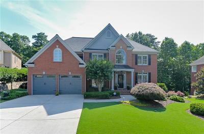 Roswell Single Family Home For Sale: 3909 Fort Trail NE