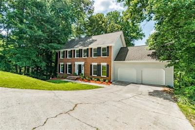 Roswell Single Family Home For Sale: 110 Farm Hill Circle