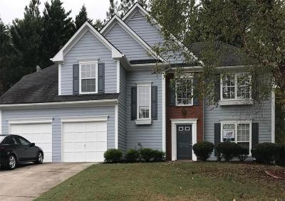 Kennesaw Single Family Home For Sale: 3027 Cranbrook Walk NW