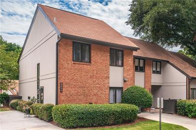 Brookhaven Condo/Townhouse For Sale: 3277 Clairmont North NE