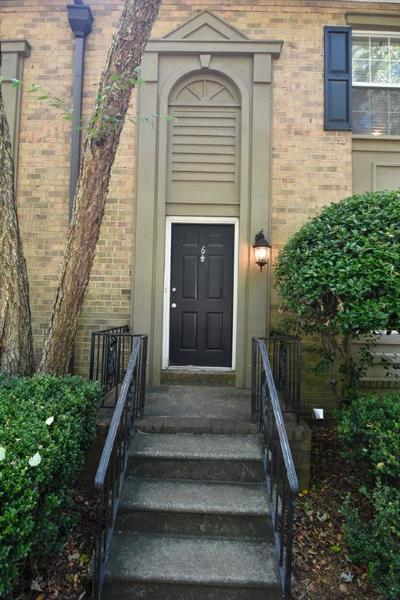 Sandy Springs Condo/Townhouse For Sale: 6980 Roswell Road #A6