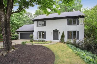 Roswell Single Family Home For Sale: 255 Sassafras Road