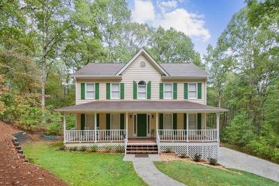 White Single Family Home For Sale: 285 Sutallee Ridge Court NE