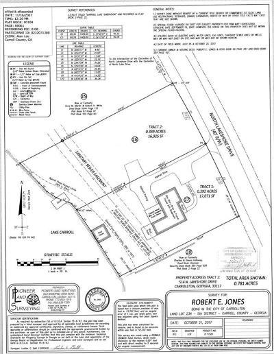 Carroll County Residential Lots & Land For Sale: 516 North Lakeshore Drive
