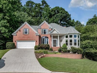 Suwanee Single Family Home For Sale: 6255 Zinfandel Drive