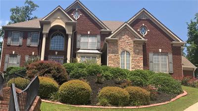 Suwanee Single Family Home For Sale: 1370 Boomer Circle