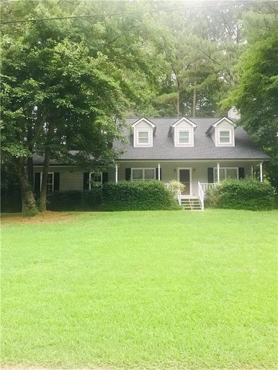 Powder Springs Single Family Home For Sale: 200 Crabapple Court