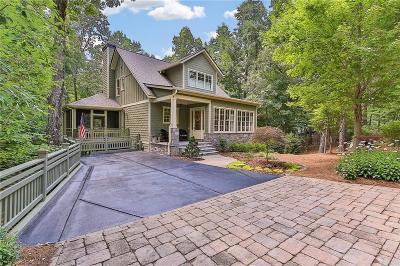 Big Canoe Single Family Home For Sale: 18 Choctaw Ridge