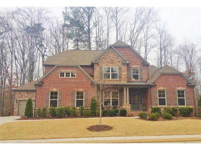 Suwanee Single Family Home For Sale: 345 Andelle Avenue