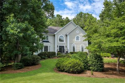 Roswell Single Family Home For Sale: 490 Saddlebrook Drive