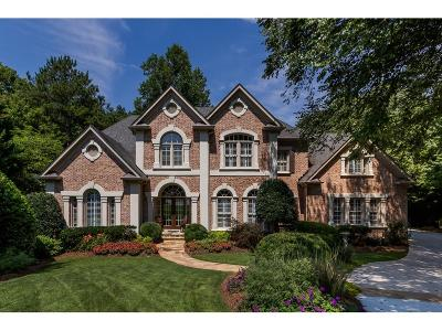 Sandy Springs Single Family Home For Sale: 465 Verdi Lane