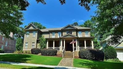 Suwanee Single Family Home For Sale: 4968 Tarry Glen Drive