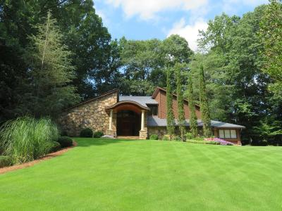 Atlanta Single Family Home For Sale: 4070 Whitewater Creek Road NW