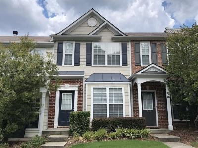 Peachtree Corners Condo/Townhouse For Sale: 3251 Hidden Cove Circle NW