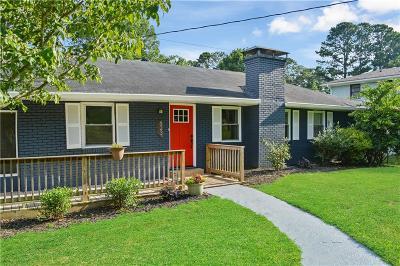 Marietta Single Family Home For Sale: 623 Counsel Drive NE