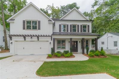 Brookhaven Single Family Home For Sale: 1929 Dresden Drive NE