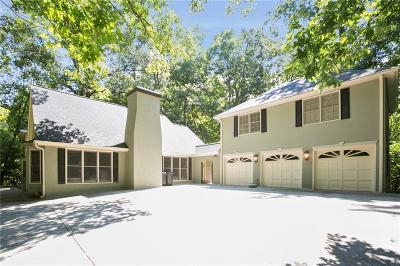 Sandy Springs Single Family Home For Sale: 7125 Brandon Mill Road