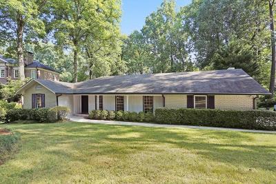 Atlanta Single Family Home For Sale: 1040 Carter Drive NE