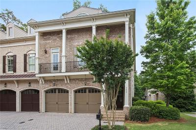 Alpharetta Condo/Townhouse For Sale: 9008 Riverbend Manor