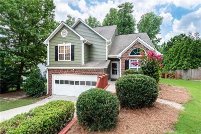 Kennesaw Single Family Home For Sale: 2707 Windsor Court NW