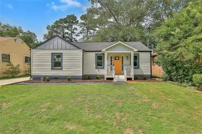 College Park Single Family Home For Sale: 1727 Hardin Avenue