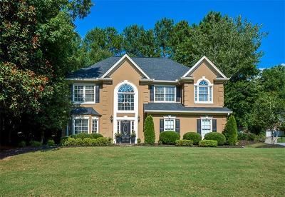 Suwanee Single Family Home For Sale: 3415 Fox Hollow Way