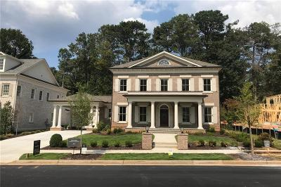 Alpharetta GA Single Family Home For Sale: $1,799,900