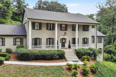 Atlanta Single Family Home For Sale: 4103 Flintlock Road NW