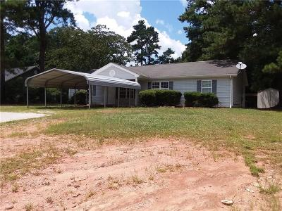 Carrollton Single Family Home For Sale: 2855 W Hwy 166