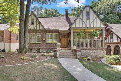 Atlanta Single Family Home For Sale: 512 Lakeshore Drive NE