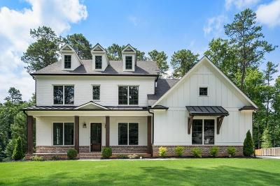 Sandy Springs Single Family Home For Sale: 206 Underwood Drive