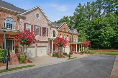Peachtree Corners, Norcross Condo/Townhouse For Sale: 6229 Spalding Drive